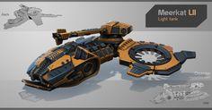 Hover Tank, Igor Rashkuev on ArtStation at http://www.artstation.com/artwork/hover-tank-11388f44-4128-45cc-a442-a0f1c3fc2789