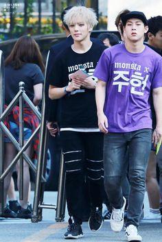 [HQ] 150522 #몬스타엑스 #MONSTA_X #민혁#MINHYUK - Music Bank