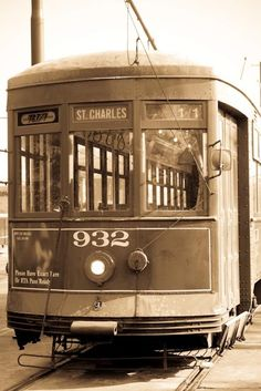 Street Car in New Orleans-There really is a streetcar name Desire.