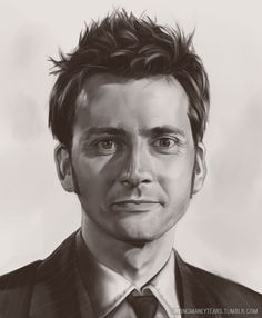 David Tennant, the 10th doctor by cryingmanlytears