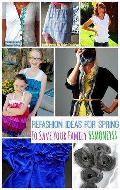 Refashion Ideas for Spring to Save Your Family Money | eBay