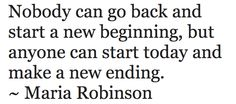 you can always make a new beginning #quote