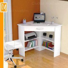 Escritorio Esquinero - Mesa Para Notebook Con Cajon! - $ 1.339,99 en Mercado Libre