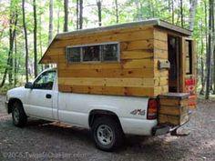 Inside Homemade Camper Carl S Home Built Truck