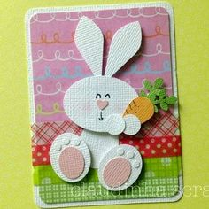 SHARING CREATIVITY and COMPANY: Punch Art Easter Bunny Basket