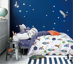 Cliab Rocket Bedding Set Galaxy Planets Twin Size Duvet Cover Set 100% Cotton (Twin 5pcs) Cliab Duvet Cover Sets http://www.amazon.com/dp/B01738MZQI/ref=cm_sw_r_pi_dp_8L.Nwb132TMEB