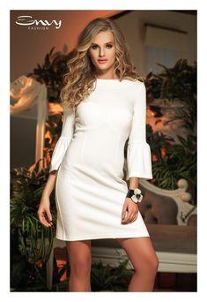 Envy Fashion Envy, White Dress, Outfit, Sweaters, Dresses, Fashion, Outfits, Vestidos, Moda
