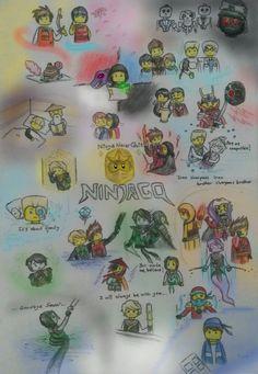 Lego Ninjago All Seasons at Once