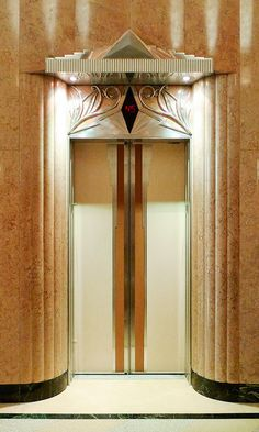 Art Deco: Elevator doors