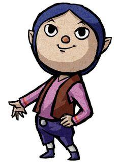 Jan - Characters & Art - The Legend of Zelda: The Wind Waker HD