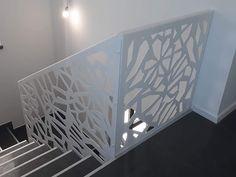 Scari interioare moderne - Traforate.ro Magazine Rack, Divider, Cabinet, Storage, Interior, Room, Furniture, Home Decor, Houses
