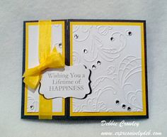 Lifetime of Happiness by deb2stamp - Cards and Paper Crafts at Splitcoaststampers