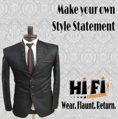 Make your own Style Statement. Hifi Collection #blazer #suitup #style