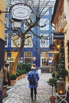 One of the lovely little streets in wonderful Copenhagen...