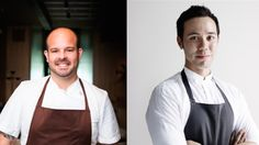 Chefs Aaron Martinez, left, and Stephen Gillanders (respectively, the outgoing and incoming chefs at Intro) will be joined by Doug Psaltis, Michael Sheerin (Embeya) and David Posey at a game dinner benefiting the Chicago Food Depository. Details from Chicago Tribune's Phil Vettel (@philvettel)