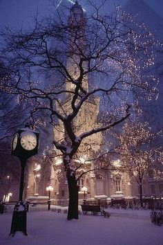 In the winter, GO SEE THIS! & take a bunch of pictures :) Chicago Water Tower. This area truly is beautiful in the winter with the snow and Christmas lights. Beautiful World, Beautiful Places, Beautiful Pictures, Simply Beautiful, Amazing Photos, Beautiful London, Absolutely Stunning, Beautiful Scenery, Beautiful Dream