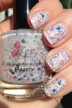 Crystal's Crazy Combos: KBShimmer - Party