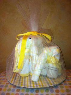Diaper Elephants Safari baby shower baby by TeensyTinyBabyGifts, $40.00