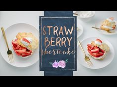 SOBREMESA DE MORANGO COM CHANTILLY (Strawberry Shortcake) - YouTube