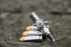 """Looove this engagement picture!! Make the whole theme """"The Hunt is Over""""!!!! So freakin cute!!"""