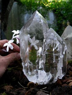 Himalayan Quartz--Quartz balances and revitalizes the physical, mental, emotional and spiritual planes. Cleanses and enhances the organs and subtle bodies and acts as a deep soul cleanser, connecting the physical dimension with the spirit & mind. Enhances psychic abilities. It aids concentration and unlocks memory.