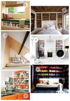 Book shelves ideas!!!!!!!!!!! love