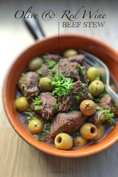 Best Recipe For Beef Stew with Olives | Simple. Tasty. Good.