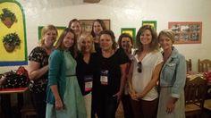 Lunch with Margie Lawson & friends. RWA 2014.