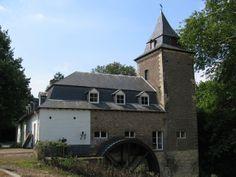 Flour mill, Weltermolen, Heerlen, the Netherlands.