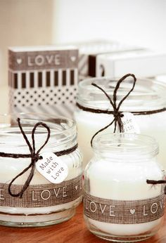 pic name Tea Lights, Place Cards, Place Card Holders, Jar, Candles, Decor, Image, Blue Prints, Decoration