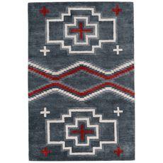 Black Forest Decor.com- San Miguel Grey Rug - 4 x 6 ($580.00) 5x7 ($840.00)