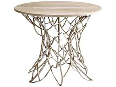 Buy the Cyan Design 05457 Antique Silver Direct. Shop for the Cyan Design 05457 Antique Silver Twigs Side Table and save. Silver Side Table, Round Side Table, End Tables, Twig Furniture, Accent Furniture, Vintage Furniture, Silver Furniture, Shelf Furniture, Granite