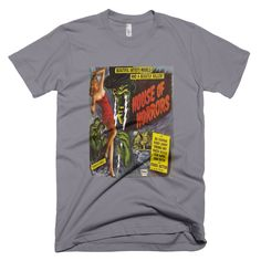 House of Horrors  men's t-shirt created from The House of Horrors  vintage movie poster.