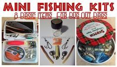 Examples of a diy survival fishing kit for your bug out bag which includes 9 basic items. Several Mini Fishing Kit Examples and Lots of Pictures. Survival Fishing Kit, Wilderness Survival, Survival Prepping, Survival Skills, Emergency Preparedness, Survival Gear, Emergency Kits, Survival Hacks, Apocalypse Survival