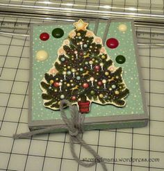 manuela.pf.nov15 Advent Calendar, Stampin Up, Holiday Decor, Home Decor, Paper, The Last Song, Packaging, Christmas, Gifts
