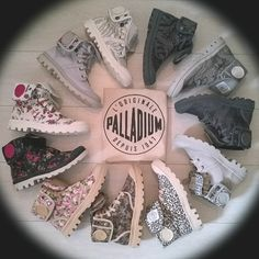 Palladium Boots. Circle of prints. Animalprints, Flowerprints, Roses, Flowers, Zebra, Leopard, Snake, Women Collection, Spring, Summer, Canvas Boots, Palladium - the Chuck Taylor of Boots, depuis 1947