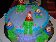 ...when I began cake decorating, this was one of my best sellers!