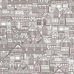 Tudor Homes Wallpaper