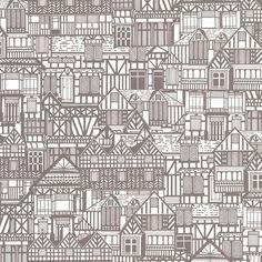 Tudor Homes Wallpaper