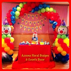 Carnival Themed 1st Birthday Party!!