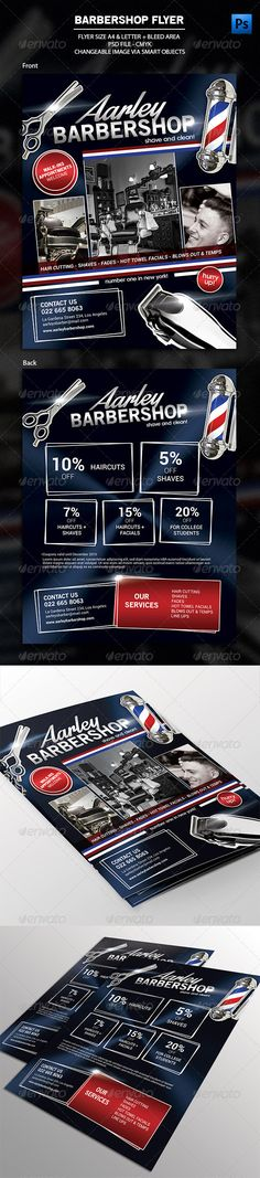 Barbershop Flyer PSD Template | Buy and Download: http://graphicriver.net/item/barbershop-flyer/8349277?WT.ac=category_thumb&WT.z_author=arifpoernomo&ref=ksioks