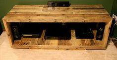 DIY Pallet Media Console – TV Stand | Pallet Furniture DIY
