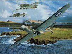 ww2 aircraft art - Google Search