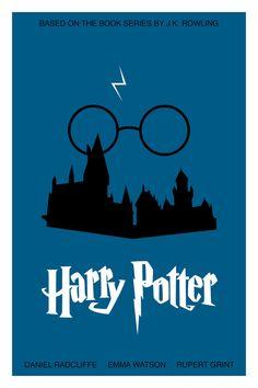 Harry Potter Poster by PosterizedbyNeil on Etsy, $30.00