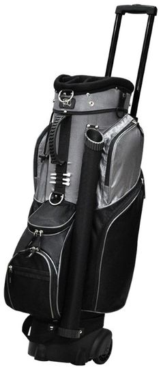 "Check out what Lori's Golf Shoppe has for your days on the golf course! Black RJ Sports Ladies/Men's Spinner 9.5"" Transport #Golf Cart Bag #lorisgolfshoppe"