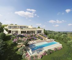 A spectacular and original Villa for sale under construction in Benahavis, Costa del Sol  https://www.crystalshore-properties.com/en/listing/spain/benahavis/benahavis/villa/4350/