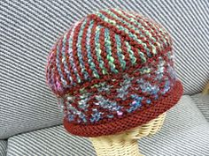 Ravelry: Mosaic Mojo Hat pattern by Katie Swanson So many color variations possible.  Fun to knit!