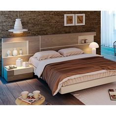 New wooden door interior bedroom beds ideas Bed Back Design, Wood Bed Design, Sofa Design, Bedroom Closet Design, Bedroom Furniture Design, Bed Furniture, Bed Headboard Design, Headboards For Beds, Double Bed Designs