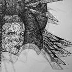 Hiromi Moneyhun - papercut art OIRAN #9