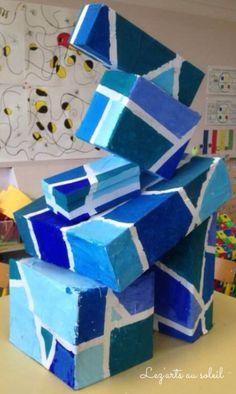 Géométrie dans l'art Grande Section de maternelle CP